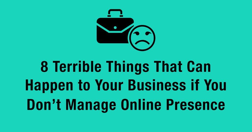 manage online presence