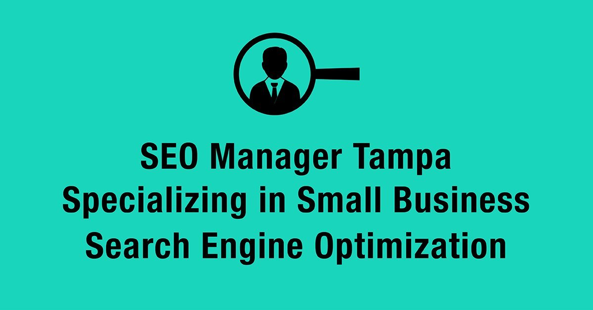 seo manager tampa