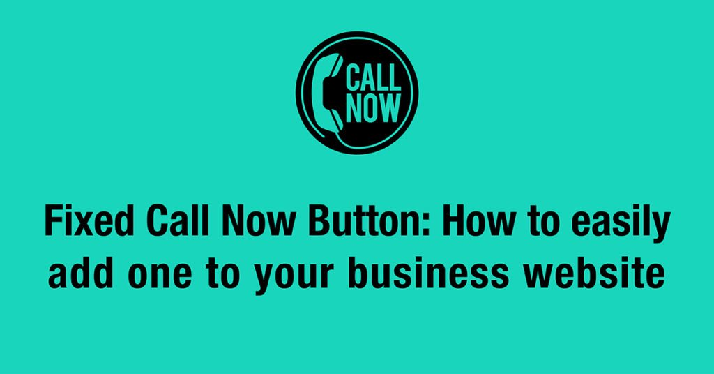 fixed call now button 2