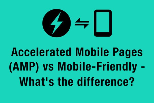 AMP vs mobile friendly
