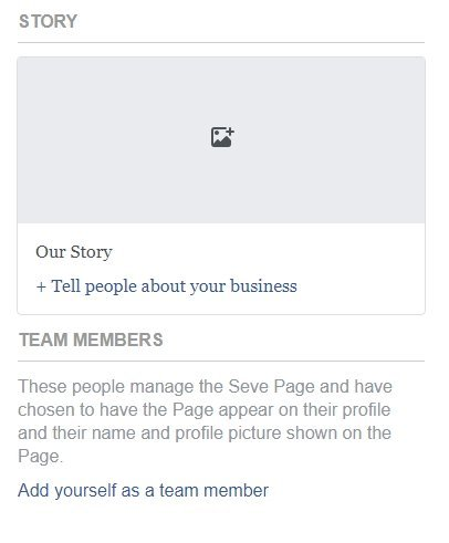 Facebook Business Page 2018